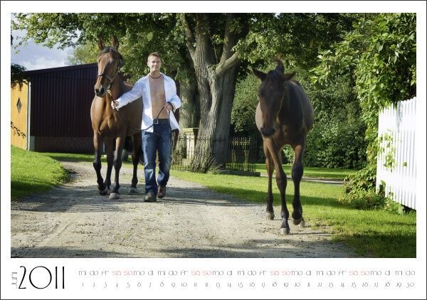 CAV Stallburschen-Kalender Juni