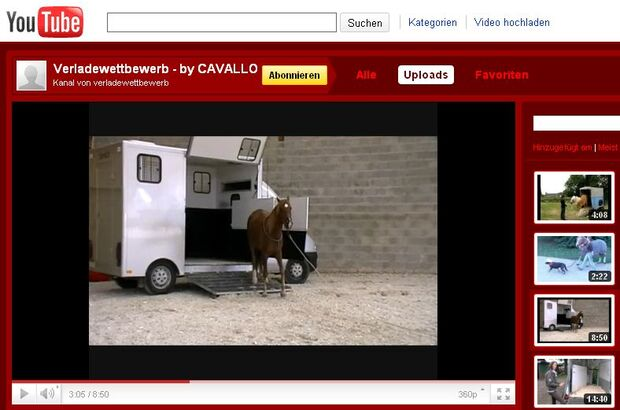 CAV Verladekultur Video-Wettbewerb Youtube Screnshot