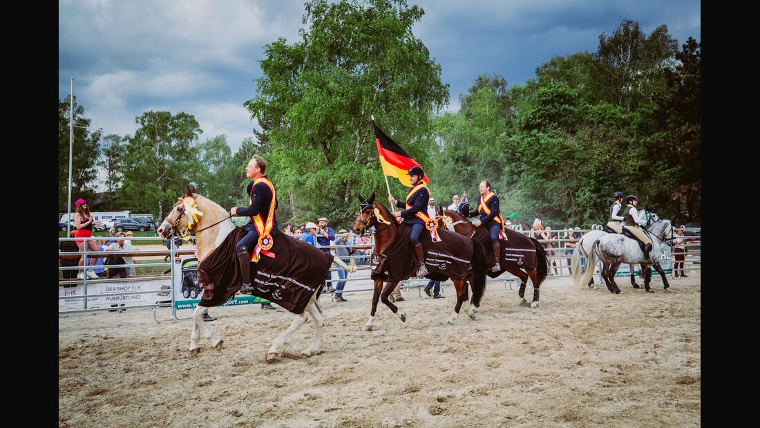 CAV WM Working Equitation Siegerehrung 2018