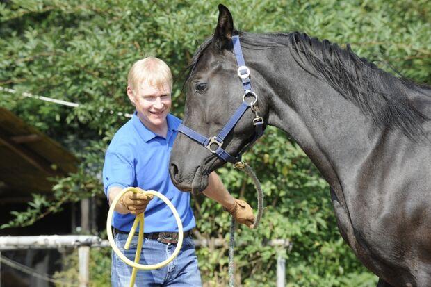 CAV Wasser Wasser-Training Stefan Valentin Horsemanship_12