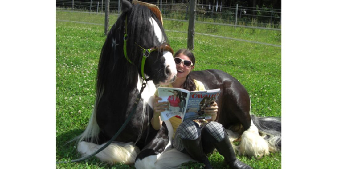 CAV Wo Reiter lesen Leserfotos 1