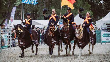 CAV Working Equitation Ehrenrunde Weltmeisterschaft 2018