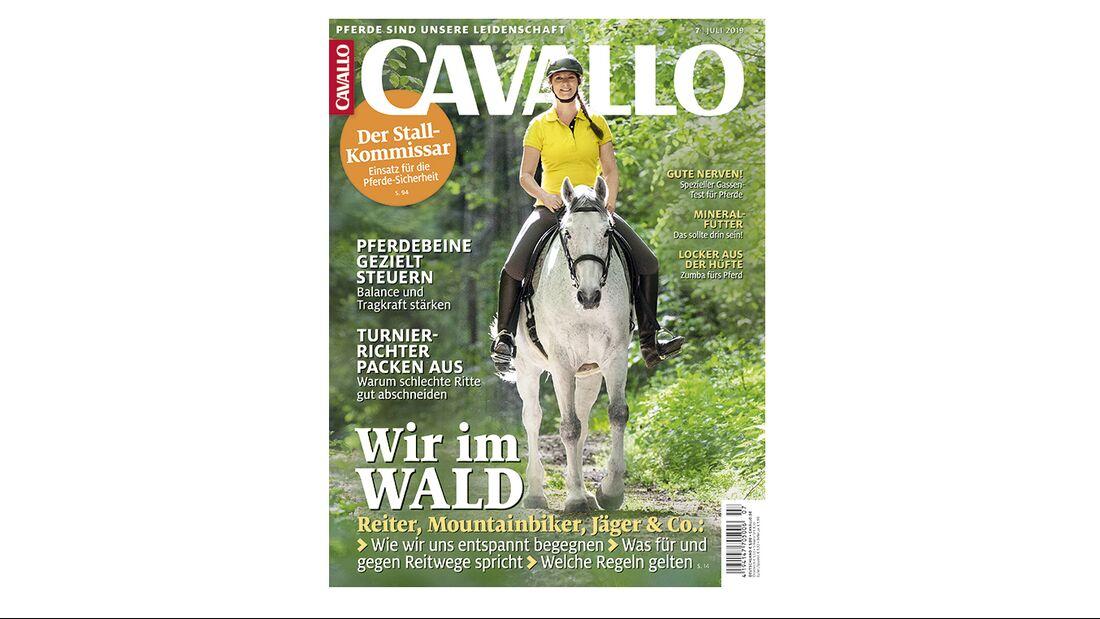 CAVALLO Cover Ausgabe 07/2019