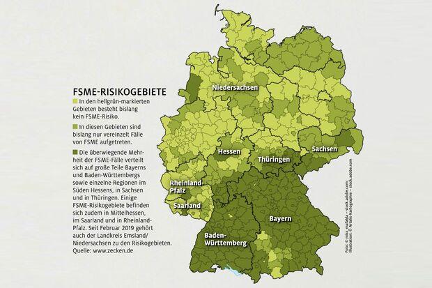 FSME-Risikogebiete