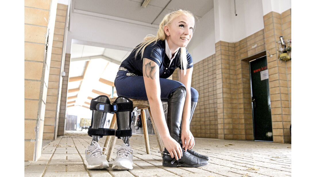 Springreiten mit Handicap