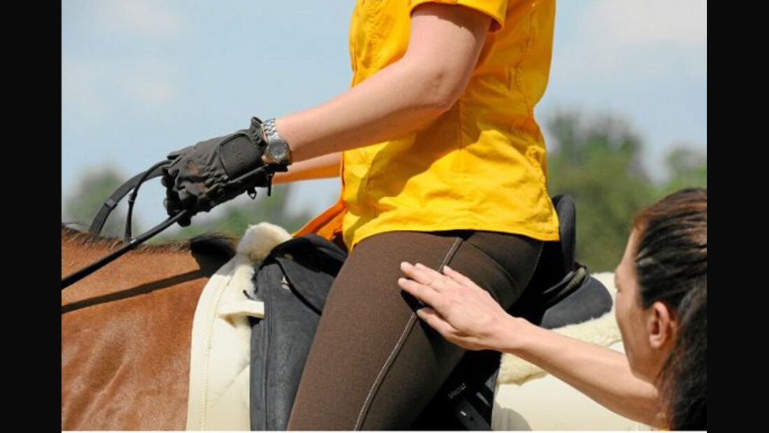 Wie Sitzfehler des Reiters wirken