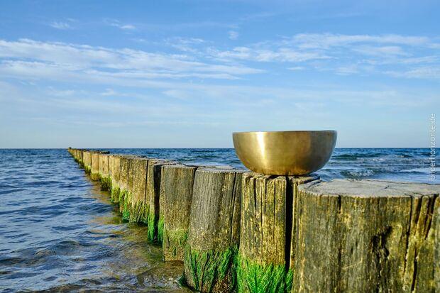 Zwischen dem Klang der Schalen und dem Rauschen der Ostsee, ist ein entspannter Urlaub garantiert.